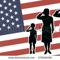 PX image usa soldier family salute