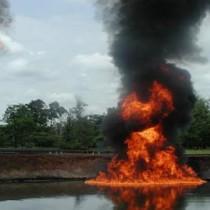 PX image Chevron oil-fire