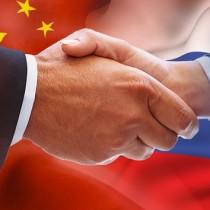 PX image China Russia Hand Shake