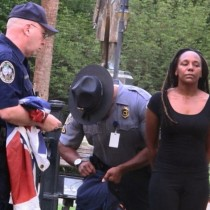 dim Bree Newsome Climbed Flagpole & Took Down SC Confederate Flag
